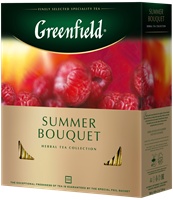 Чай травяной GREENFIELD Summer Bouquet, 100пак