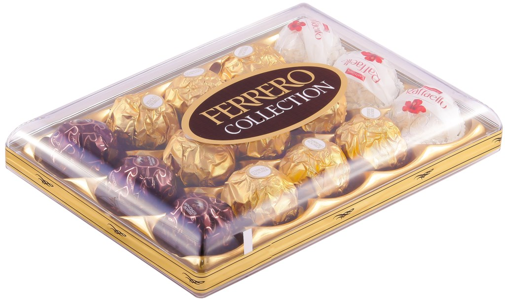 Набор конфет FERRERO ROCHER Collection Ассорти, 172,2г